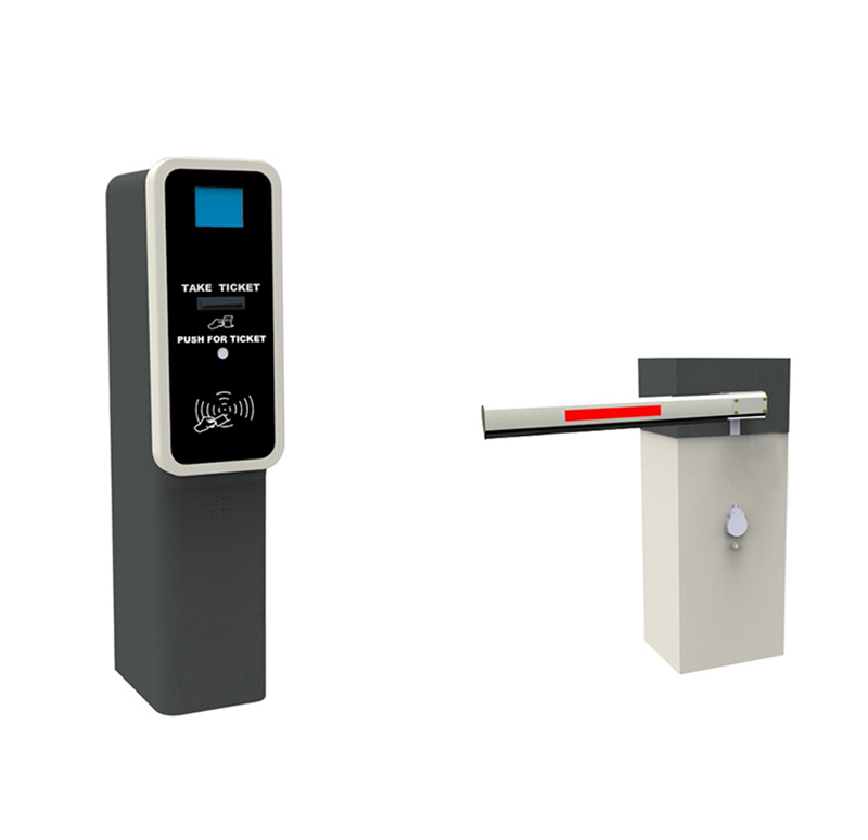 Entry station barcode / QR code ticket dispenser CP1