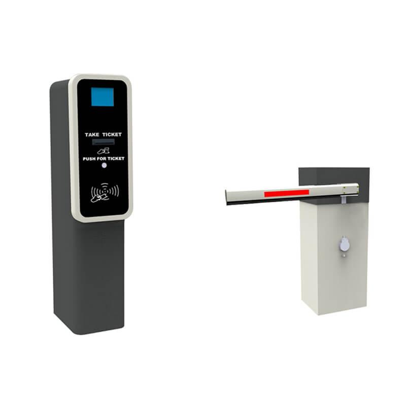 Entry station barcode / QR code ticket dispenser CP1