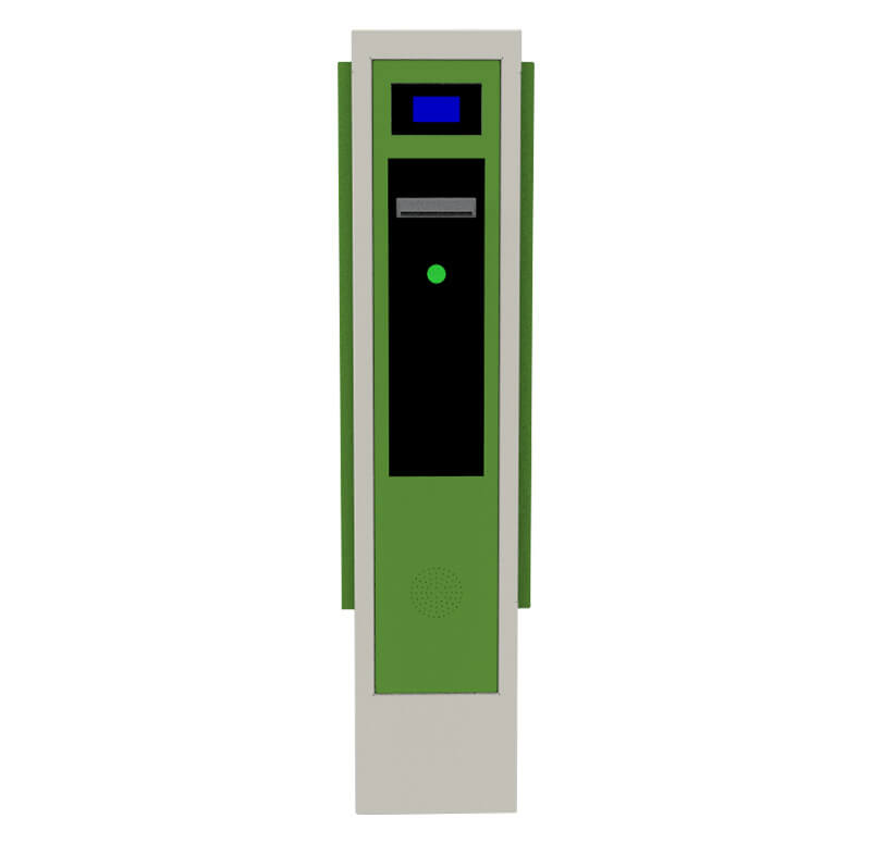 Entry station barcode / QR code ticket dispenser CP2