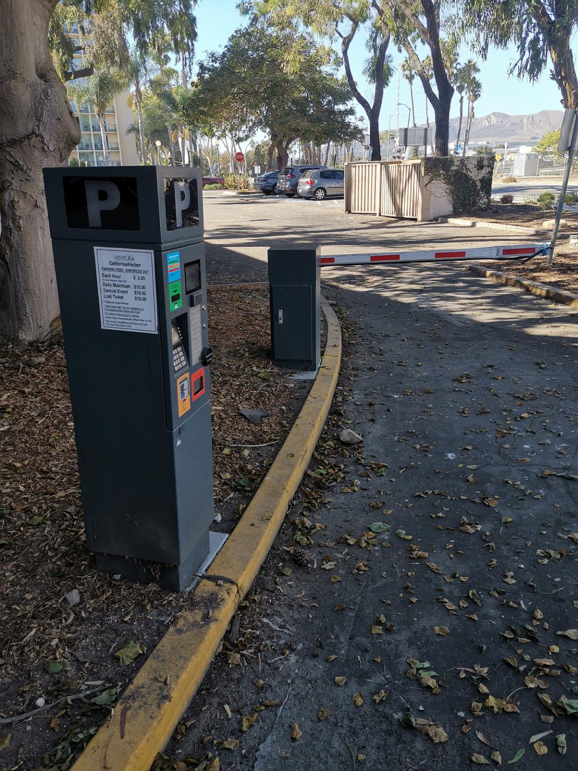 Ventura beach parking